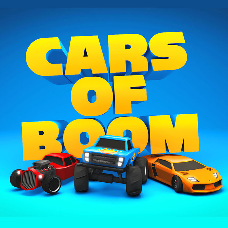 Cars of Boom Game logo