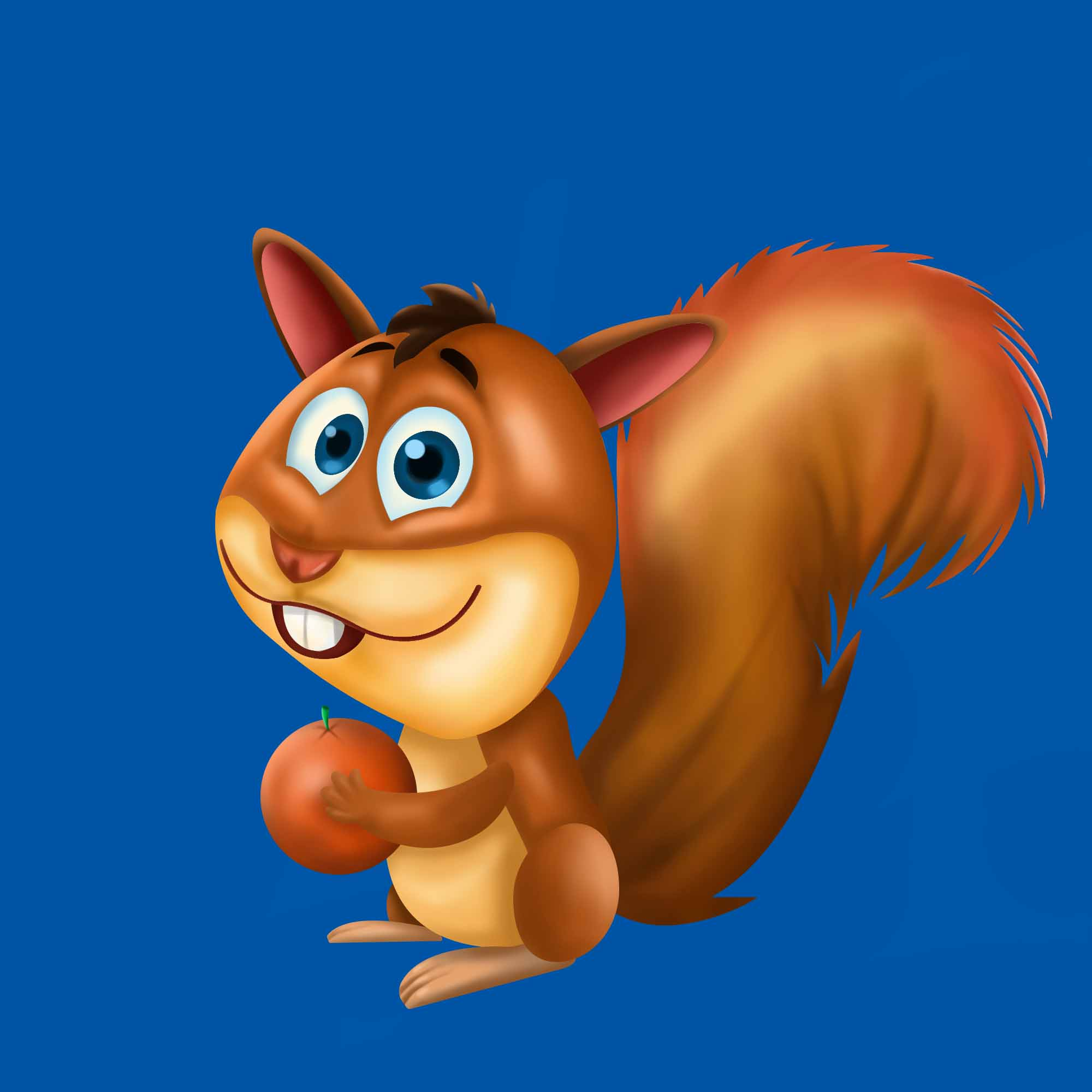 Slot Game character squirrel