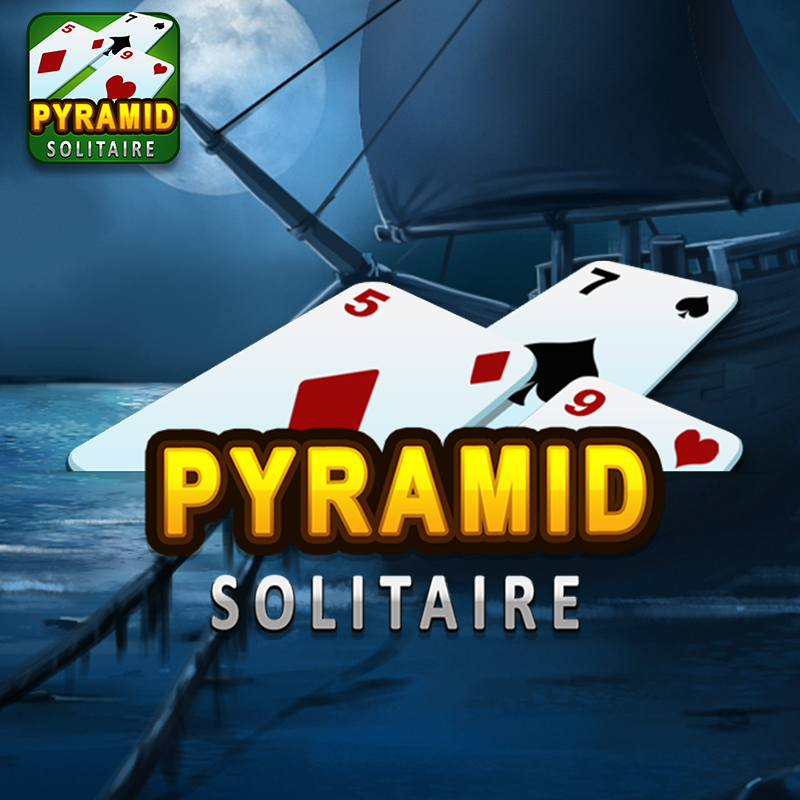 Pyramid Solitaire Game Logo
