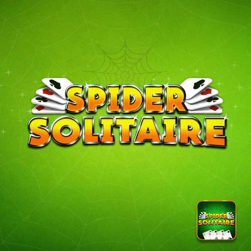 Spider Solitaire Game Logo