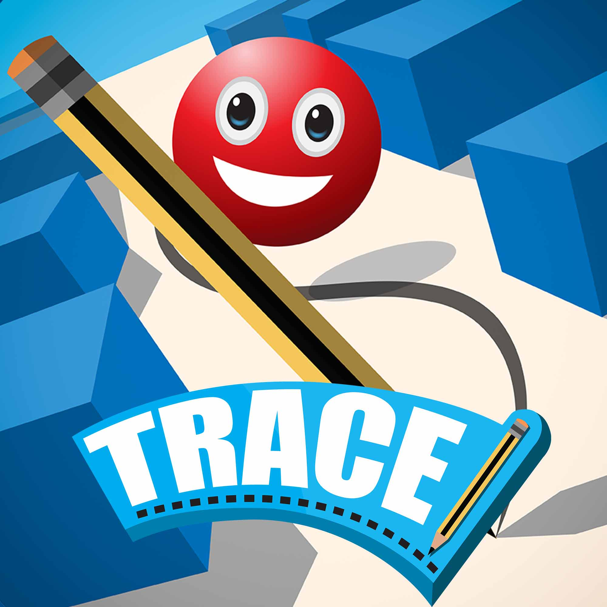 Trace Game Logo